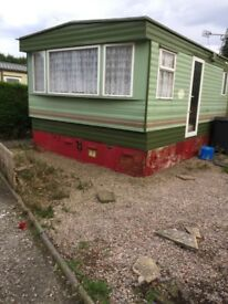 Static caravan for sale £300