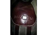 Billy Bag Brown Leather and suede handbag Brand New Unused