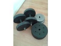 Dumbels with Weights