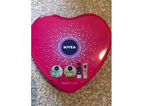Stocking filler- Nivea sweet lips lip balm gift set - 2 available