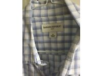 BANANA REPUBLIC MEN'S SHIRT - MEDIUM