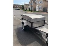 Camping trailer aluminium with steel frame