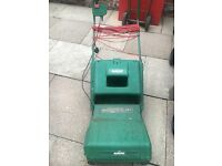 Qualcast rotary electric lawnmower