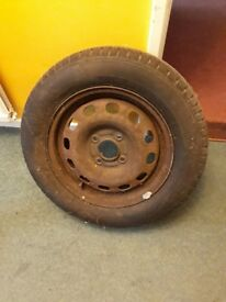 Brand New Car Tyre and Wheel