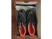 Football Nike Hypervenom Size 4 in box -never worn