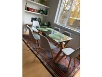 Set of 6 Habitat dining chairs *PICKUP BY KENSINGTON OLYMPIA*