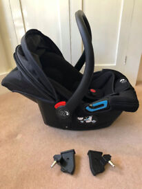 Baby Jogger City GO car seat (and Compact carry cot)