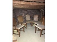 For sale Six dining chairs