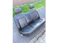 Great Wall steed rear leather bench seat