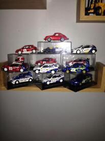 Rally car collection