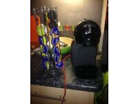Dolce Gusto Black Coffee Machine with pod holder!!