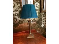 Laura Ashley Solid Brass Table Lamp