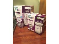 Avent Philips bottle and breast pump plus extra teats ALL NEW NEVER OPENED