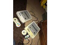 X2 Super Nintendo console for sale !