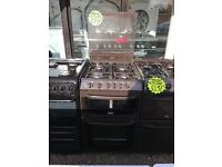 CANNON 50CM ALL GAS COOKER IN BROWN WITH LID