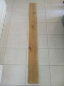 NEW LENGTH OF PINE SKIRTING BOARD L 1.7 METRES W 16.9cm T 15mm LEICESTER