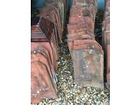 300 Good condition used clay roof tiles.