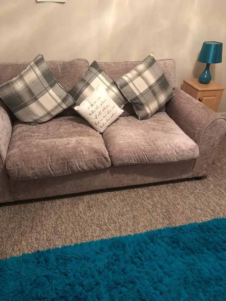 Sofa Bed Metal Action As New. Must Be Seen Immaculate