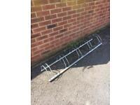 Bike stand/wall rack