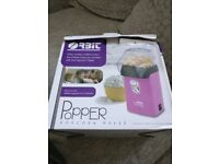 brand new hot pink popcorn maker