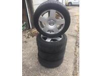 Audi alloys & 205516 tyres