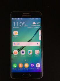 Samsung Galaxy 6 Edge cracked screen
