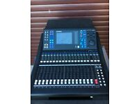 Yamaha LS9-16 16ch digital mixing console, flightcase & AuviTran Ethersound card