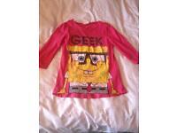 9-10 Years Girls (Nickelodeon) SpongeBob T'shirt