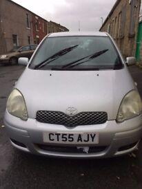toyota yaris 1.3 petrol cheap insurance good condition £1295