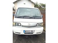 Mazda Panel Van 2002, 1 Previous Owner , Full Service History