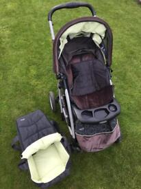 Graco push chair and carry cot