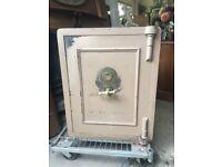 Vintage safe by Joseph Bates & Sons (63 cm w x 63 cm d x 79 cm h)