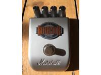 Marshall Reflector Reverb Guitar Effects Pedal - RF1 - 1 month old and mint condition!!