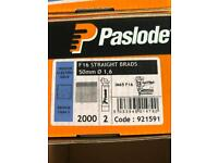 Paslode 50mm finishing nails