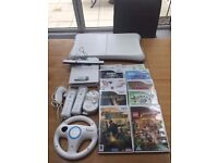 Nintendo Wii Bundle - Console, Controllers, Games for sale