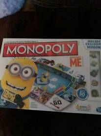 Brand new sealed Monopoly Despicable Me edition