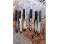 Job lot of wire brushes