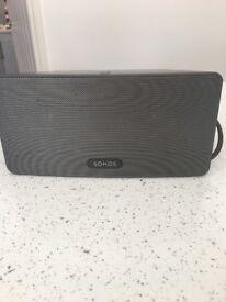 SONOS PLAY:3 home speaker complete with WiFi bridge
