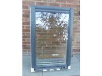 Velux white centre pivot window laminated 78cm x118cm
