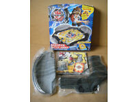 """Portable """"BAKUGAN BATTLE ARENA"""" with 1 Bakugan. All contents new and sealed."""