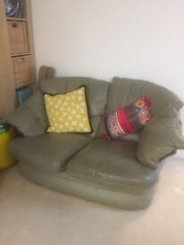 FREE two-seater Leather Sofa