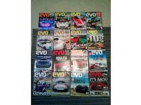 Evo car magazine bundle