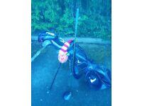 Callaway Golf Bag and Ben Hogan Driver