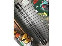 3 x Greys Prodidgy Apex 50mm 12ft 3.25lb fishing Rods
