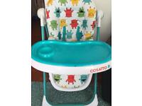 Cosatto monsters high chair