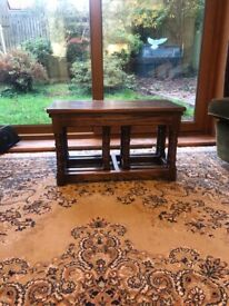 Antique Priory nest of tables