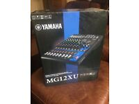 Brand new Yamaha MG12XU Live Mixer - DJ equipment