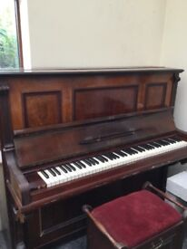 Upright Piano by Beulhoff