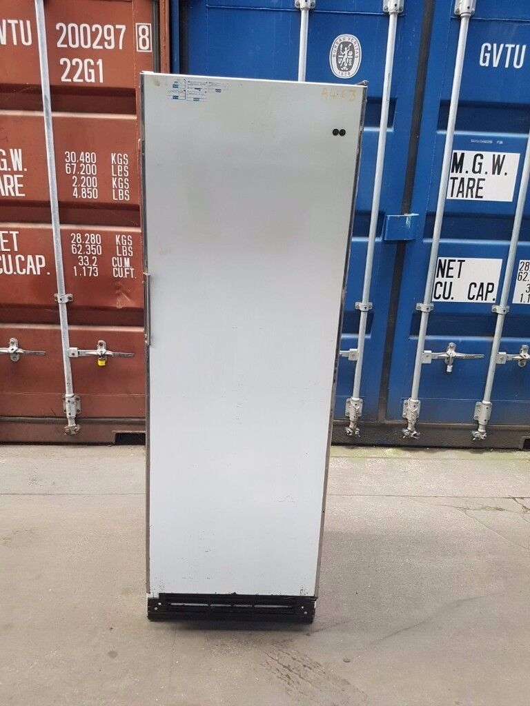 Electrolux upright single door freezer stainless steel warranty free delivery
