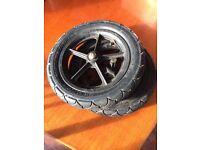 Bugaboo rear wheels x2